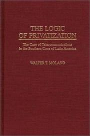 Cover of: The logic of privatization