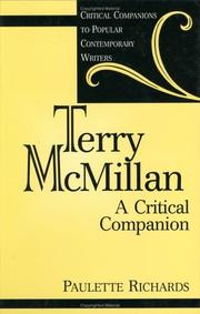 Cover of: Terry McMillan