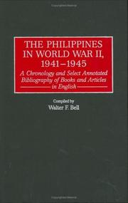 Cover of: The Philippines in World War II, 1941-1945