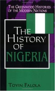 Cover of: A history of Nigeria