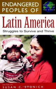 Cover of: Endangered Peoples of Latin America