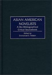 Cover of: Asian American Novelists