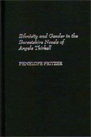 Ethnicity and gender in the Barsetshire novels of Angela Thirkell by Penelope Joan Fritzer