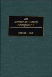 Cover of: An Ambrose Bierce Companion