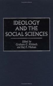 Cover of: Ideology and the Social Sciences |