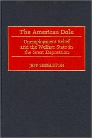 Cover of: The American dole