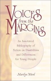 Cover of: Voices from the margins | Marilyn Ward