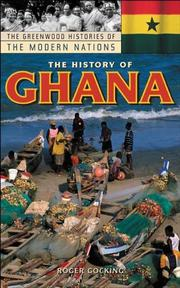 Cover of: The history of Ghana