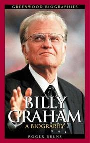 Cover of: Billy Graham by
