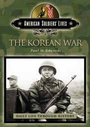 Cover of: The Korean War | Paul M. Edwards