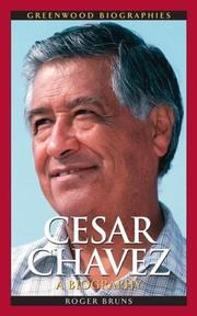 Cover of: Cesar Chavez | Roger Bruns