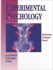 Experimental psychology by Barry H. Kantowitz