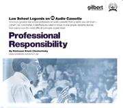 Cover of: Law School Legends Professional Responsibility