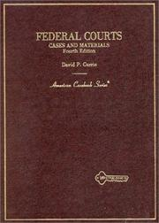 Cover of: Federal courts