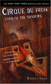 Cover of: Lord of the Shadows