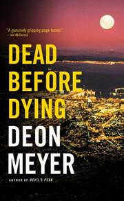 Cover of: Dead Before Dying | Deon Meyer
