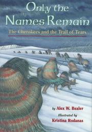 Cover of: Only the names remain