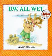 Cover of: D.W. All Wet (D. W.)