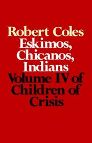 Cover of: Children of Crisis - Volume 4 | Robert Coles