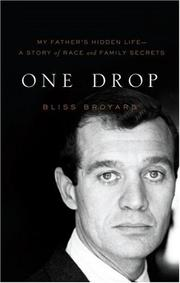 Cover of: One drop