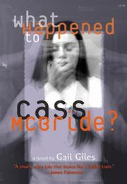 Cover of: What Happened to Cass McBride?