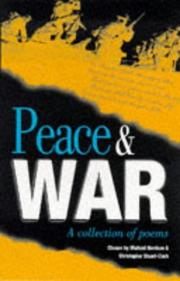 Cover of: Peace and war