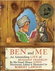 Cover of: Ben and Me | Robert Lawson