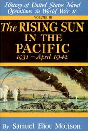 Cover of: The rising sun in the Pacific: 1931-April 1942