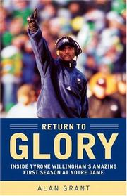 Cover of: Return to Glory | Alan Grant