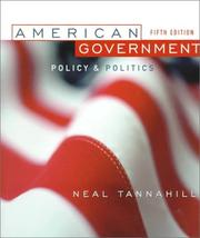 Cover of: American government | Neal R. Tannahill