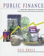 Cover of: Public finance and the American economy