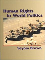 Cover of: Human Rights in World Politics