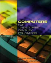 Cover of: Computers for twenty-first century educators