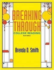 Cover of: Breaking Through | Brenda D. Smith