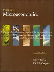 Cover of: Principles of microeconomics