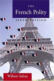 Cover of: The French Polity