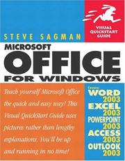 Cover of: Microsoft Office 2003 for Windows