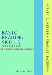 Cover of: Basic Reading Skills Handbook (6th Edition) | Harvey S. Wiener