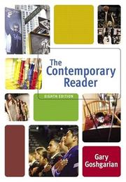 Cover of: The contemporary reader |