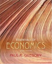 Cover of: Essentials of Economics (6th Edition) (The Addison-Wesley Series in Economics)
