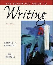 Cover of: Longwood Guide to Writing, The (3rd Edition) | Ronald F. Lunsford