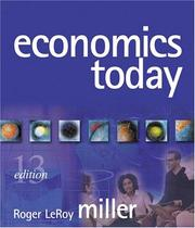 Cover of: Economics Today (13th Edition) (Addison-Wesley Series in Economics)
