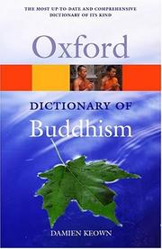 Cover of: A Dictionary of Buddhism