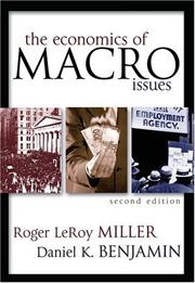 Cover of: Economics of Macro Issues, The
