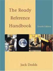 The ready reference handbook by Jack Dodds