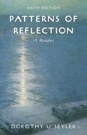 Cover of: Patterns of Reflection