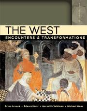 Cover of: The West