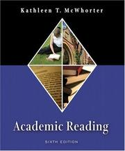 Cover of: Academic Reading (6th Edition) | Kathleen T. McWhorter