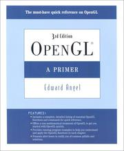 Cover of: OpenGL