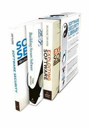 Cover of: Software Security Library Boxed Set, First Edition | Gary McGraw
